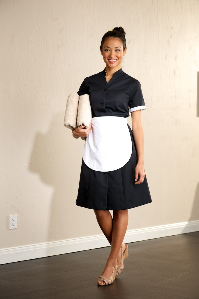House maid lct uniform for Spa uniform uae